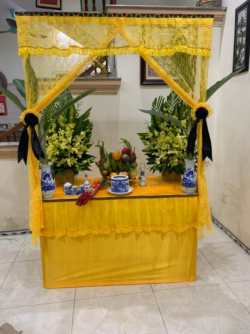 Lập bàn thờ vong cho người mới mất tại Tp Hà Nội - Tang Lễ Hà Nội
