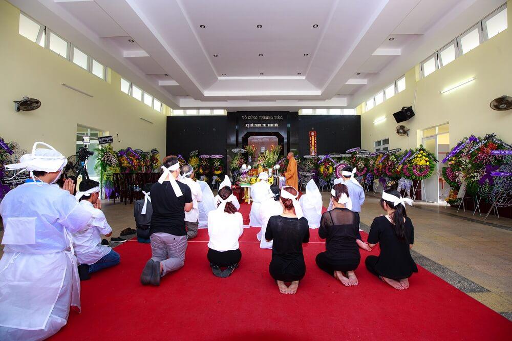 Tổ chức tang lễ nhà tang lễ