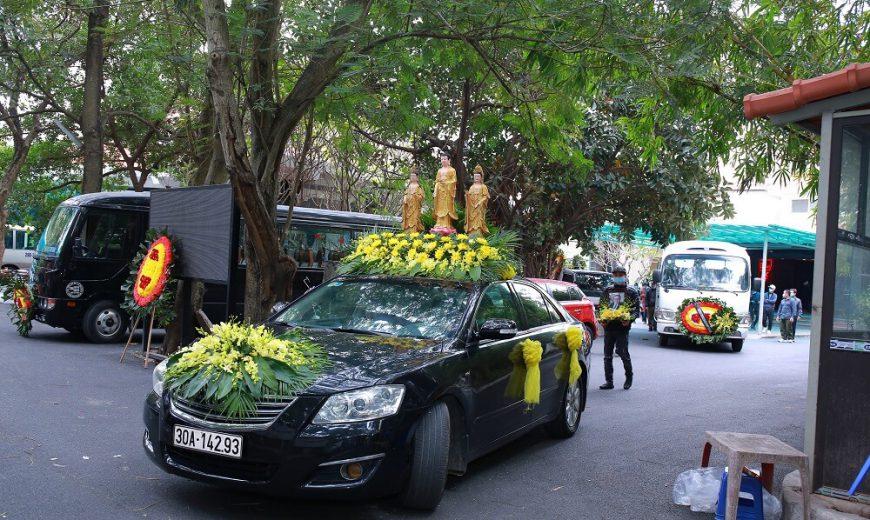 Cho thuê xe tang lễ chuyên dụng