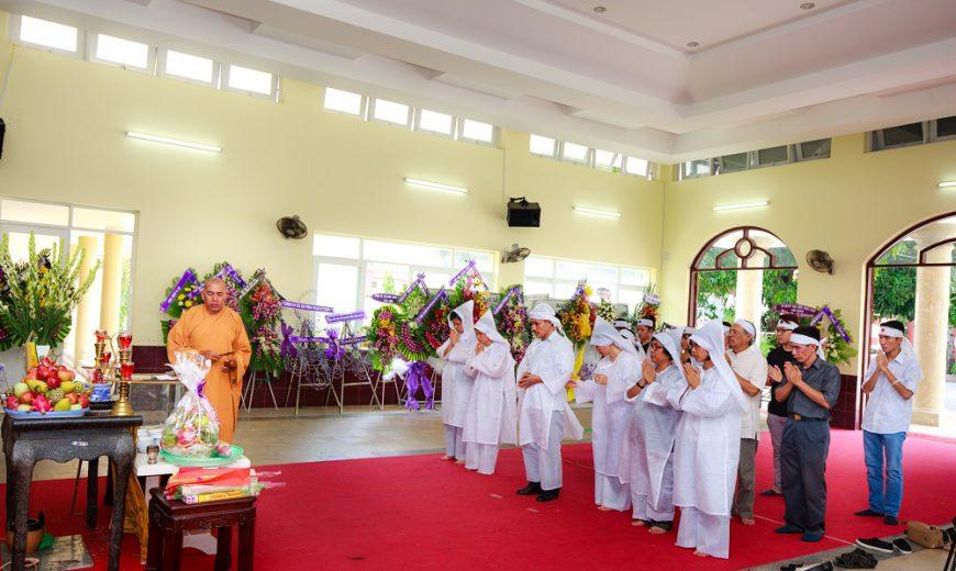 Tổ chức tang lễ tại nhà tang lễ Thanh Nhàn