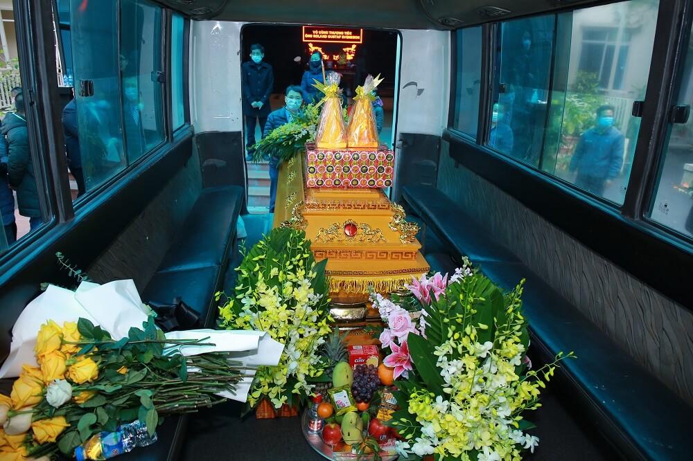 Thuê xe tang lễ chuyên dụng tại Hà Nội