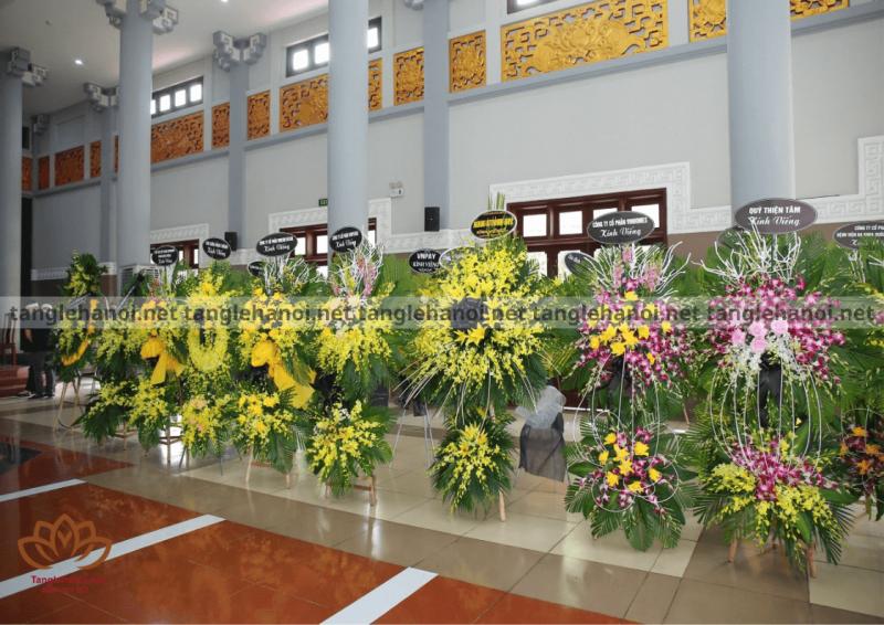 Dịch vụ đặt vòng hoa tang lễ online tại Tp Hà Nội