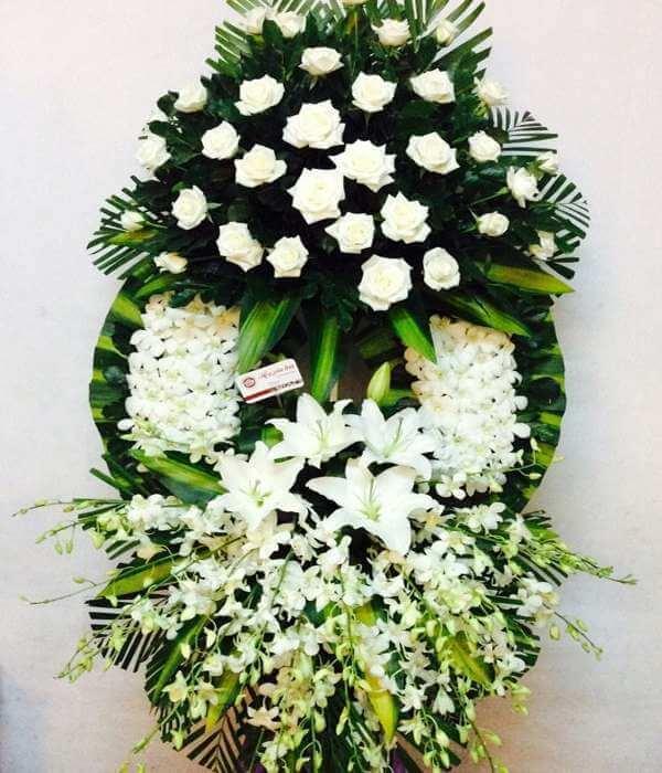 Nhận đặt vòng hoa tang lễ Online tại Tp Hà Nội