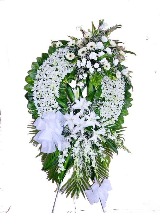 Đặt hoa tang lễ online tại Hà Nội