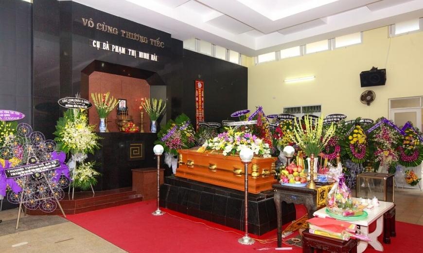 Chương trình tổ chức tang lễ