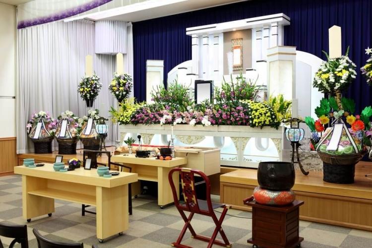 Trang trí phòng tang lễ tại Hà Nội