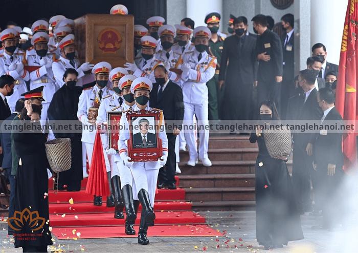 Quy định tổ chức tang lễ đảng viên Việt Nam