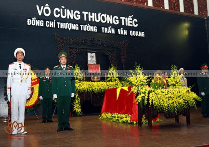 Tang lễ đảng viên Trần Văn Quang