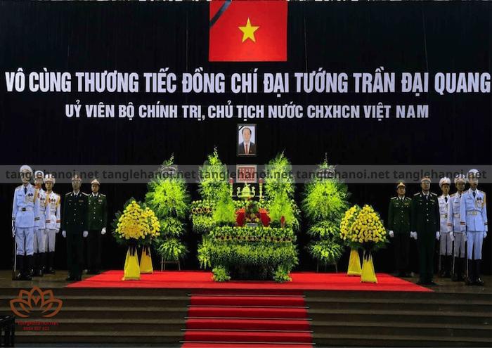 Tang lễ - Quốc tang Chủ Tịch Nước Trần Đại Quang