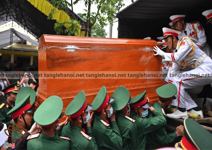Chương trình tổ chức tang lễ dành cho cán bộ quân đội