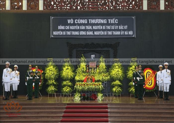 Lễ quốc tang theo quy định của nhà nước Việt Nam